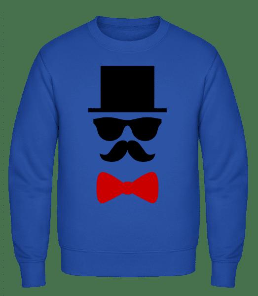 Groom - Classic Set-In Sweatshirt - Royal Blue - Vorn