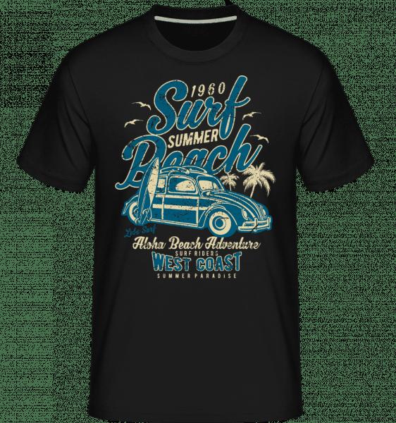 Surf Beach -  Shirtinator Men's T-Shirt - Black - Vorn
