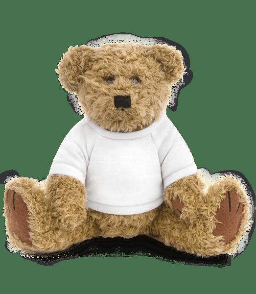 Teddybär - Weiß - Vorn