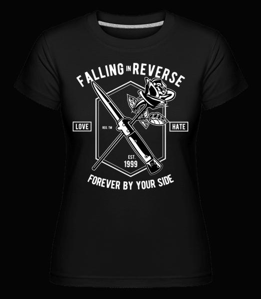 Falling In Reverse - Shirtinator Frauen T-Shirt - Schwarz - Vorn