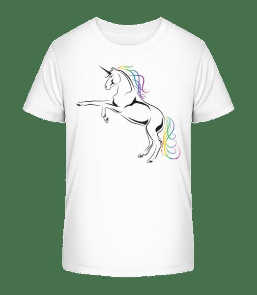 Unicorn - Kid's Premium Bio T-Shirt - White - Vorn