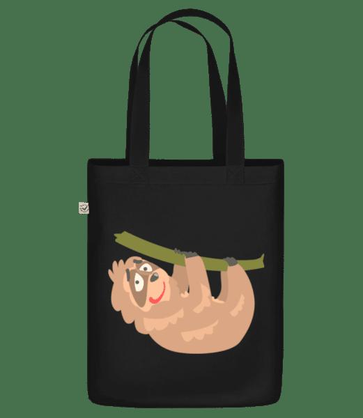 """relaxační lenost - Organická taška """"Earth Positive"""" - Černá - Napřed"""