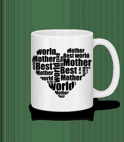 Best Mother - Mug - White - Vorn