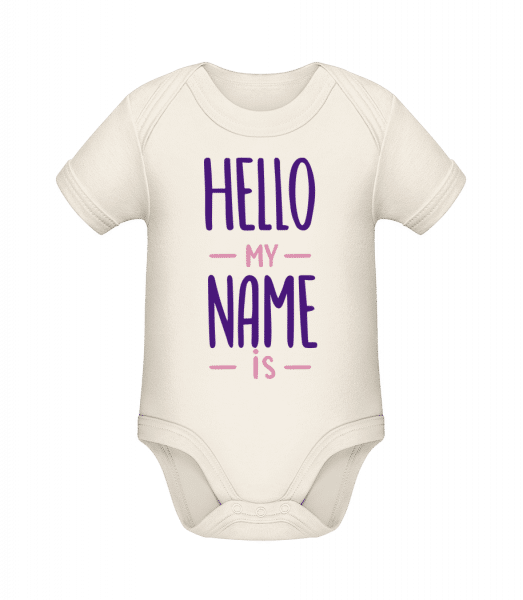 Hello My Name Is - Organic Baby Body - Cream - Vorn