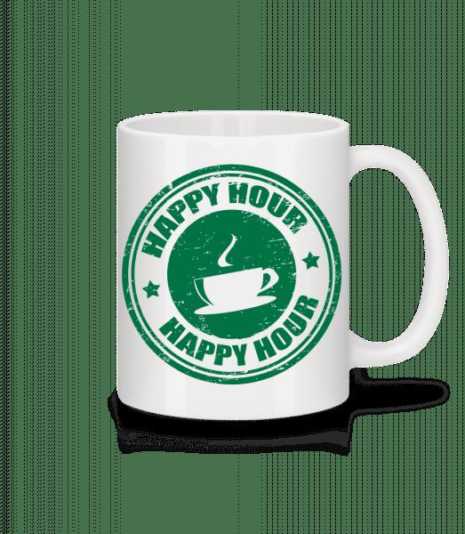 Happy Hour Coffee - Mug - White - Front