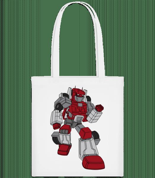 Car Robot - Taška Carrier - Bílá - Napřed