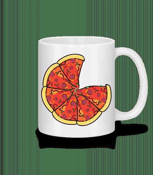 Pizza - Mug - White - Vorn