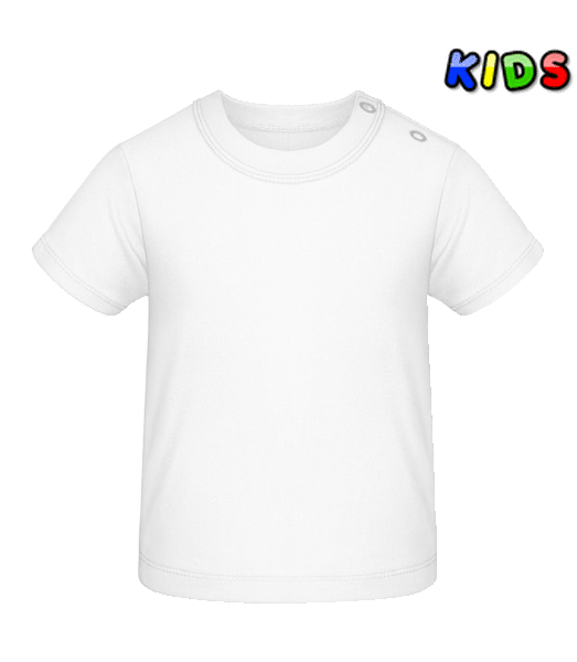 Baby T-Shirt - White - Front