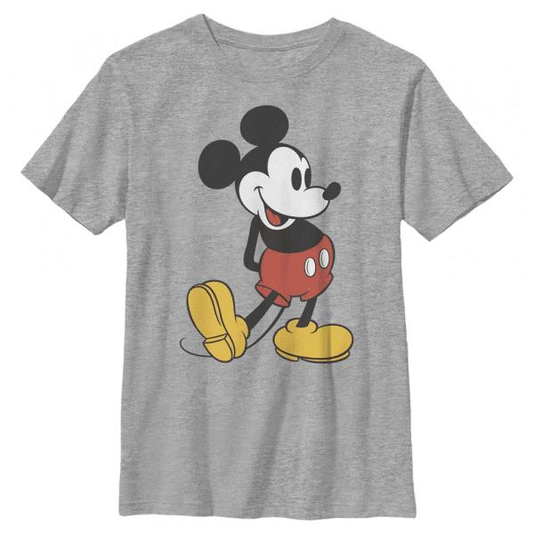 Classic Mickey - Disney - Kids T-Shirt - Heather grey - Front