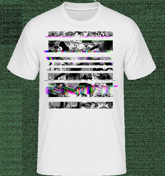 Broken Image -  Shirtinator Men's T-Shirt - White - Vorn
