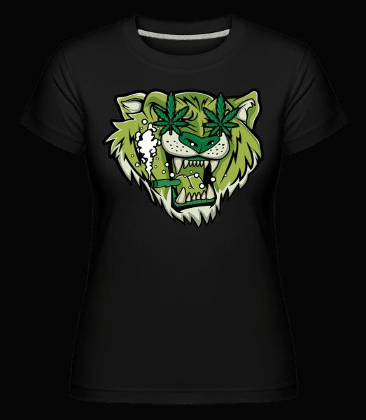 Tiger Weed -  Shirtinator Women's T-Shirt - Black - Vorn