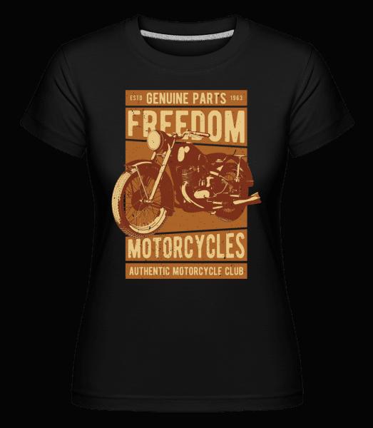 Freedom Motorcycles -  Shirtinator Women's T-Shirt - Black - Vorn
