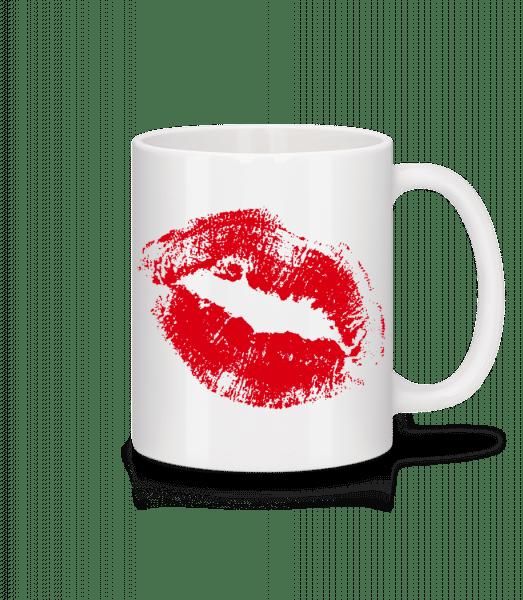 Red Lips - Mug - White - Vorn