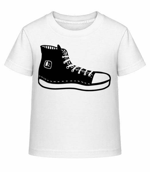 Hipster Shoes - Kid's Shirtinator T-Shirt - White - Vorn