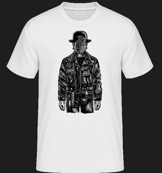 The Son Of Grenade -  Shirtinator Men's T-Shirt - White - Vorn