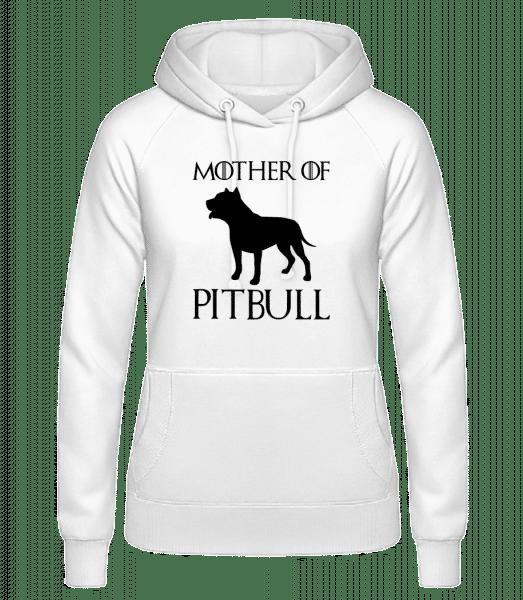 Mother Of Pitbull - Dámska mikina - Biela - Predné