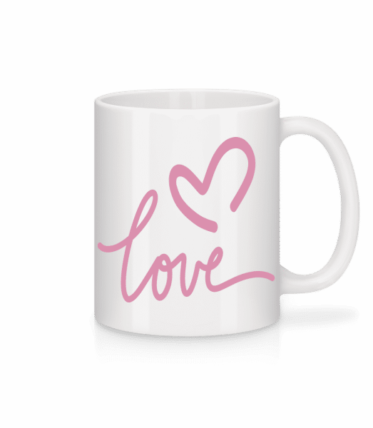Love - Mug - White - Vorn