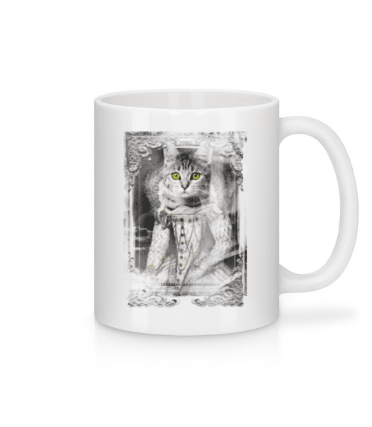 Cats Paintings - Mug - White - Front