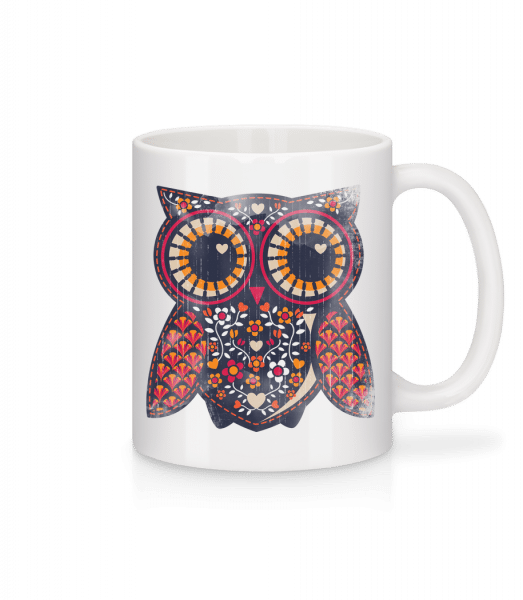 Art Owl - Mug - White - Vorn