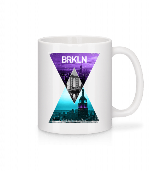 Brooklyn - Mug - White - Vorn