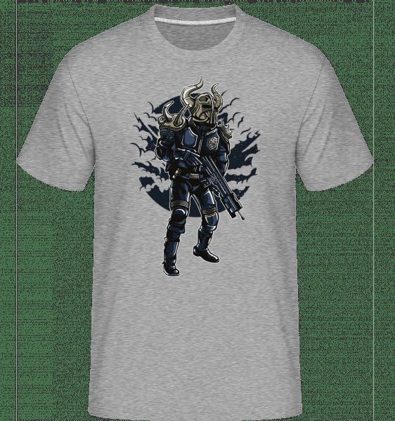 Viking Soldier -  Shirtinator Men's T-Shirt - Heather grey - Vorn