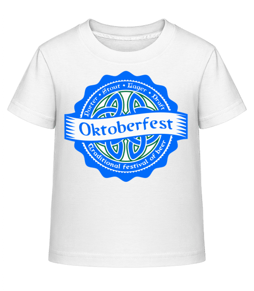 Traditional Festival Of Beer - Kid's Shirtinator T-Shirt - White - Vorn