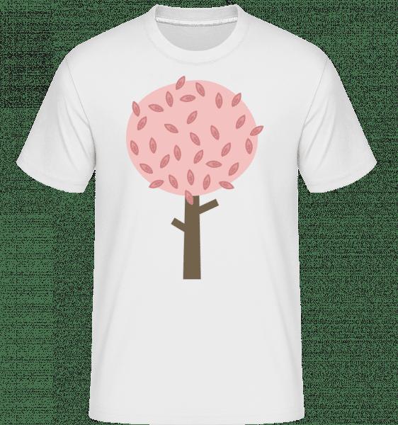 Autumn Tree -  Shirtinator Men's T-Shirt - White - Vorn