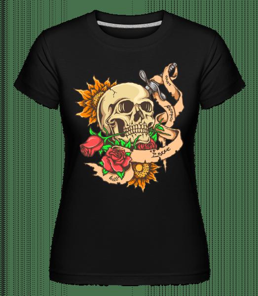 Love And Death -  Shirtinator Women's T-Shirt - Black - Vorn