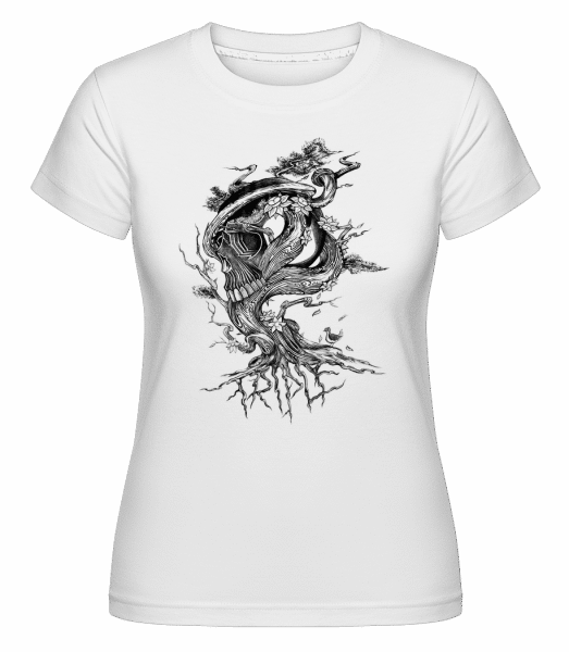 Tree of Death -  Shirtinator Women's T-Shirt - White - Front