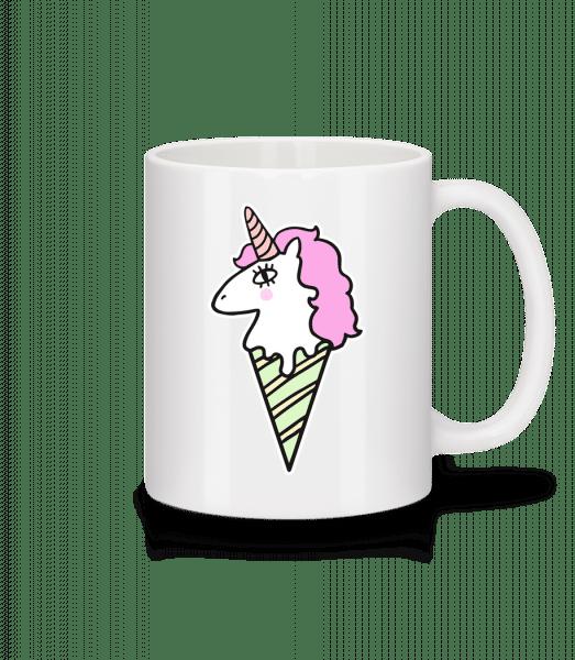 Unicorn Ice Creme - Mug - White - Front