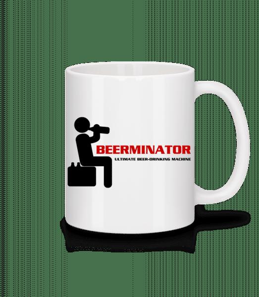 Beerminator - Mug - White - Vorn