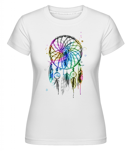 Mystical Dream Catcher -  Shirtinator Women's T-Shirt - White - Vorn