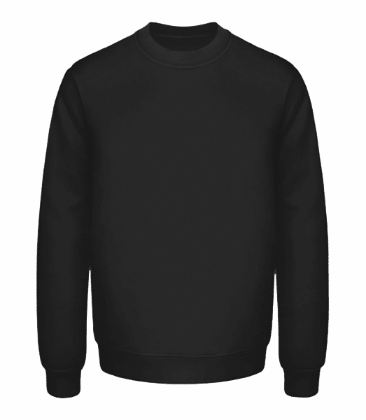 Unisex Sweatshirt - Black - Front