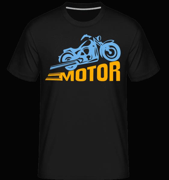 motor -  Shirtinator tričko pre pánov - Čierna1 - Predné