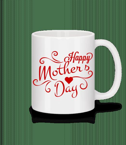 Happy Mother's Day - Mug - White - Vorn