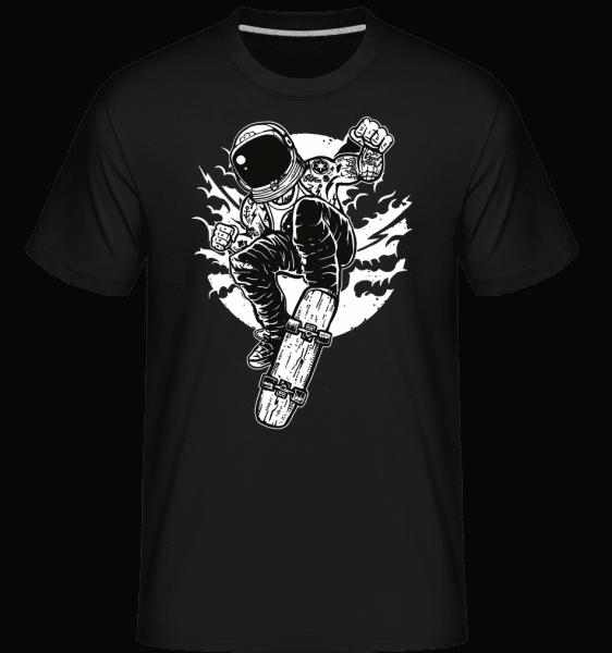 Space Skater -  Shirtinator Men's T-Shirt - Black - Vorn