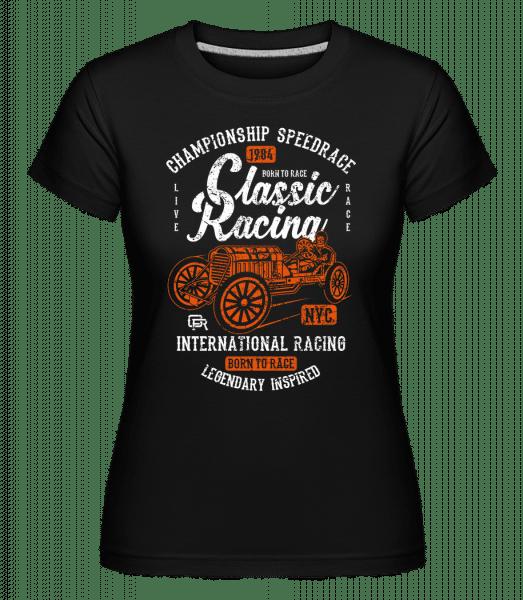 Classic Racing -  Shirtinator Women's T-Shirt - Black - Vorn