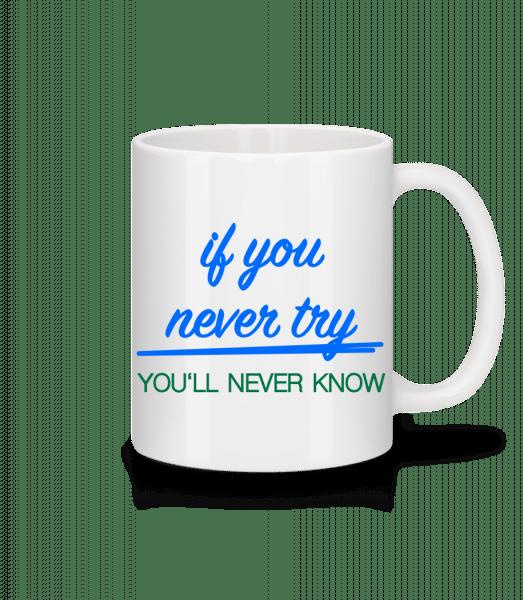 Try - Mug - White - Vorn
