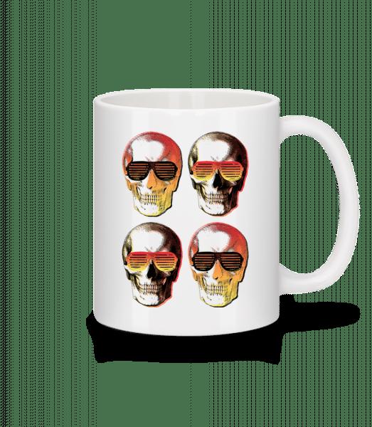 Stylish Skulls - Mug - White - Vorn