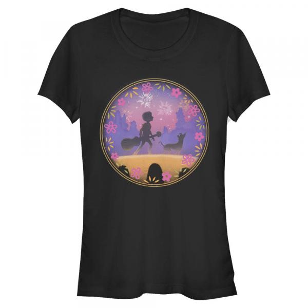 COCO Bridge Group Shot - Pixar Coco - Women's T-Shirt - Black - Front