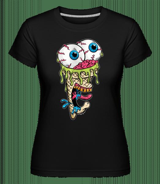 Horror Eis - Shirtinator Frauen T-Shirt - Schwarz - Vorn