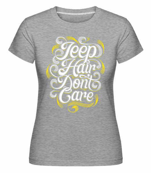 Jeep Hair Dont Care 2 -  Shirtinator Women's T-Shirt - Heather grey - Vorn