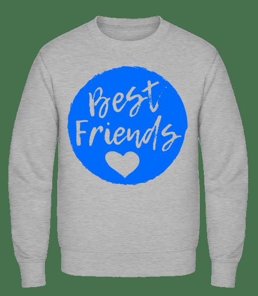 Best Friends Love - Classic Set-In Sweatshirt - Heather Grey - Vorn