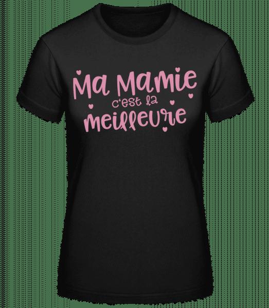 Ma Mamie C'est La Meilleure - T-shirt standard Femme - Noir - Vorn