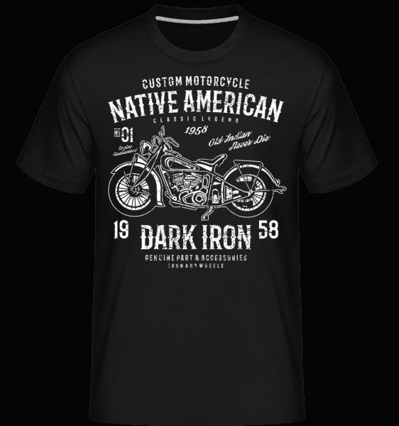 Dark Iron -  Shirtinator Men's T-Shirt - Black - Front