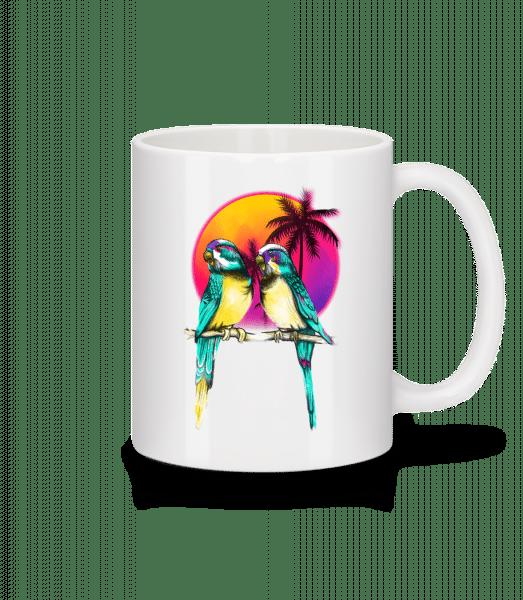 Birds Of Paradise - Mug - White - Vorn