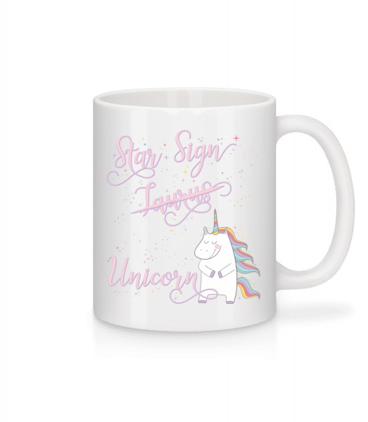 Star Sign Unicorn Taurus - Mug - White - Vorn