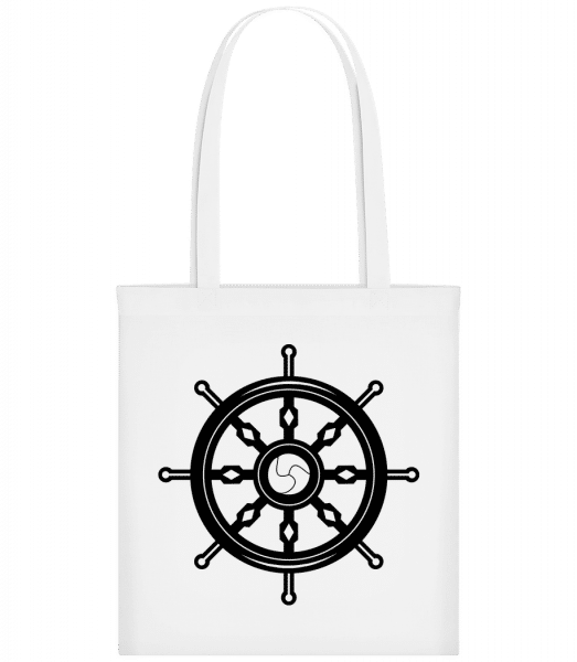 Wheel Black/White - Sac tote - Blanc - Vorn