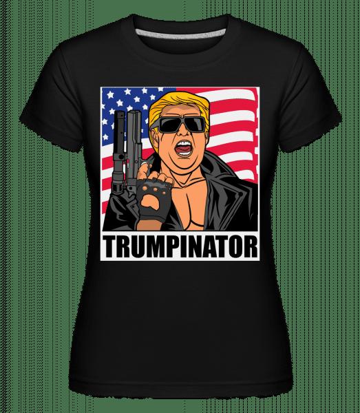 Trumpinator -  Shirtinator Women's T-Shirt - Black - Front