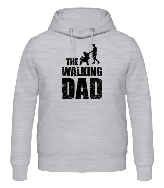 The Walking Dad - Men's Hoodie - Heather grey - Vorn